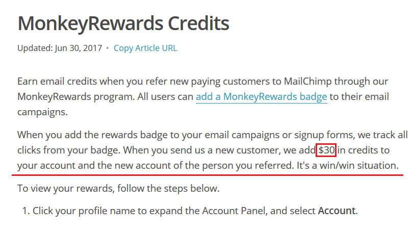 MonkeyReward Credit